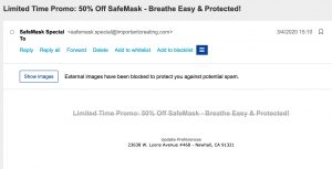 Spam Mask